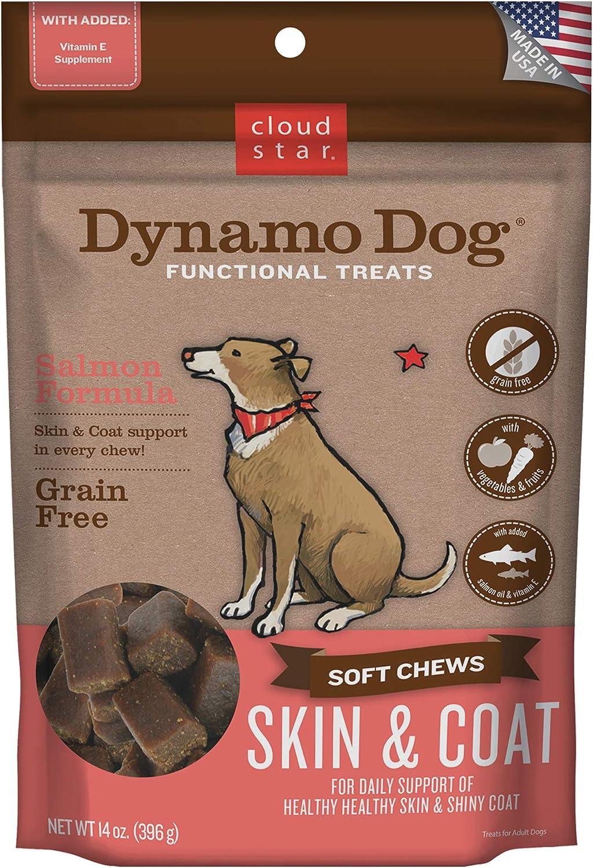 Cloud Max free shipping 43% OFF Star Dynamo Dog Skin Chews Coat Salmon Soft Functional