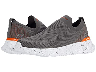 SKECHERS Matera 2.0 Hypra (Charcoal/Orange) Men