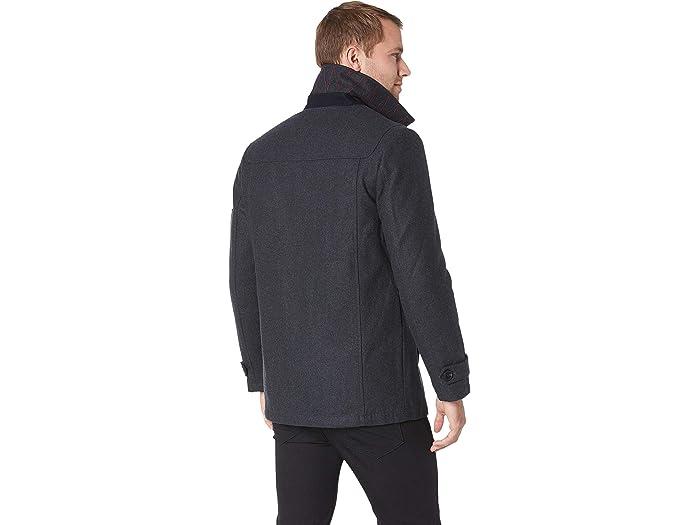 Izod Wool Peacoat - Men Clothing