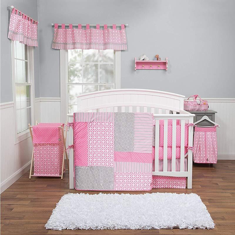 Trend Lab Lily 5 Piece Crib Bedding Set