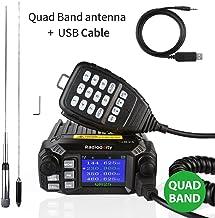 Radioddity QB25 Pro Quad Band Quad-Standby Mobile Ham Amateur Radio Transceiver Car Truck Vehicle Radio, VHF UHF 25W with ...