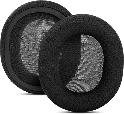 lowest YDYBZB Black Fabric Ear Pads Cushion Earmuffs popular Memory sale Foam Replacement Compatible with Sony WH-CH700N WH-CH710N Headphones sale
