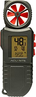 AcuRite 00256M Portable Anemometer with Flashlight