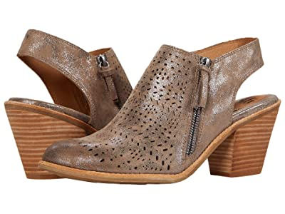 Sofft Tensley (Smoke Distressed Foil Suede) Women