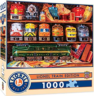 MasterPieces Lionel Trains Edition Jigsaw Puzzle, Well Stocked Shelves, Collectible Classic, 1000 Pieces