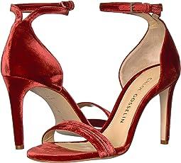 CHLOE GOSSELIN - Narcissus Velvet Ankle Strap Heel