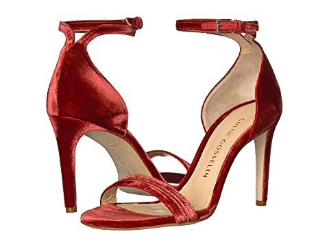 Chloé Gosselin Velvet Ankle Strap Sandals cheap for nice wholesale price online cheap sale footlocker finishline xWC34