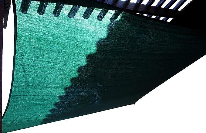 BlueDot Trading Breathable Mesh Beige Triangle Sun Shade Sail 12x12x12ft