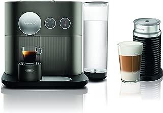 Nespresso by De'Longhi EN350GAE Expert Original Espresso Machine Bundle with Aeroccino Milk Frother by De'Longhi, Anthracite Grey