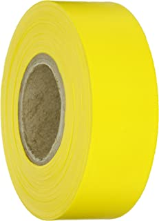 Brady Yellow Flagging Tape for Boundaries and Hazardous Areas - Non-Adhesive Tape, 1.188