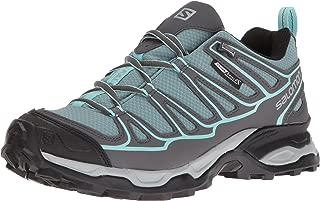 SALOMON Women's X Ultra Prime CS WP W Hiking-Shoes, Artic