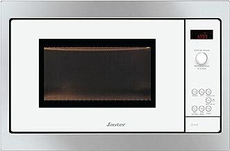 Sauter SMS4340W Integrado 26L 900W Negro, Acero inoxidable, Color blanco - Microondas (Integrado, 26 L, 900 W, Botones, Giratorio, Negro, Acero inoxidable, Blanco, Botón)
