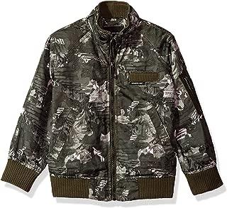 Girls' Satin Boyfriend Bomber Jacket, Choice of Colors