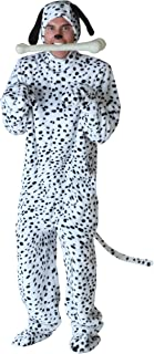 Black Spotted White Fur Dalmatian Dog Jumpsuit
