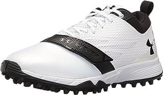 Under Armour Men's Lax Finisher Turf Lacrosse Shoe, White/Black