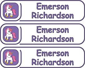 Premium, High Quality Custom Name Labels, Multiple Colors And Sizes, Waterproof, Microwave And Dishwasher Safe, Custom Name Label For Kids, Multiple Names, Custom Stickers, Personalized Labels