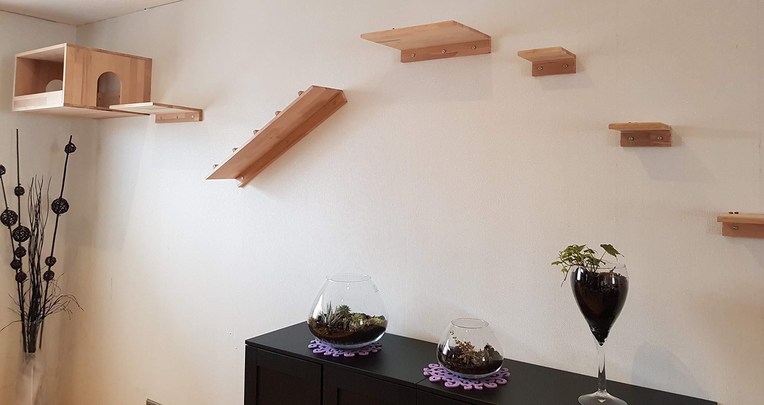 LiLu ́s - Cuento de Cuento de Hadas, Gatos, escaleras, 80 x 20 cm ...