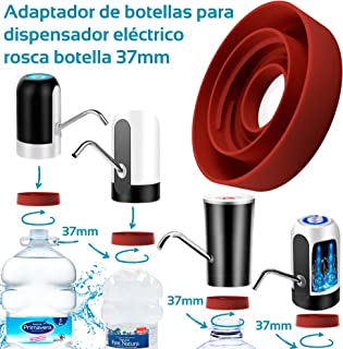 comprar comparacion MovilCom® - Adaptador de Botella para dispensador de Agua Eléctrico Compatible con Botellas 5, 6, 8, 10, 12 litros | para ...