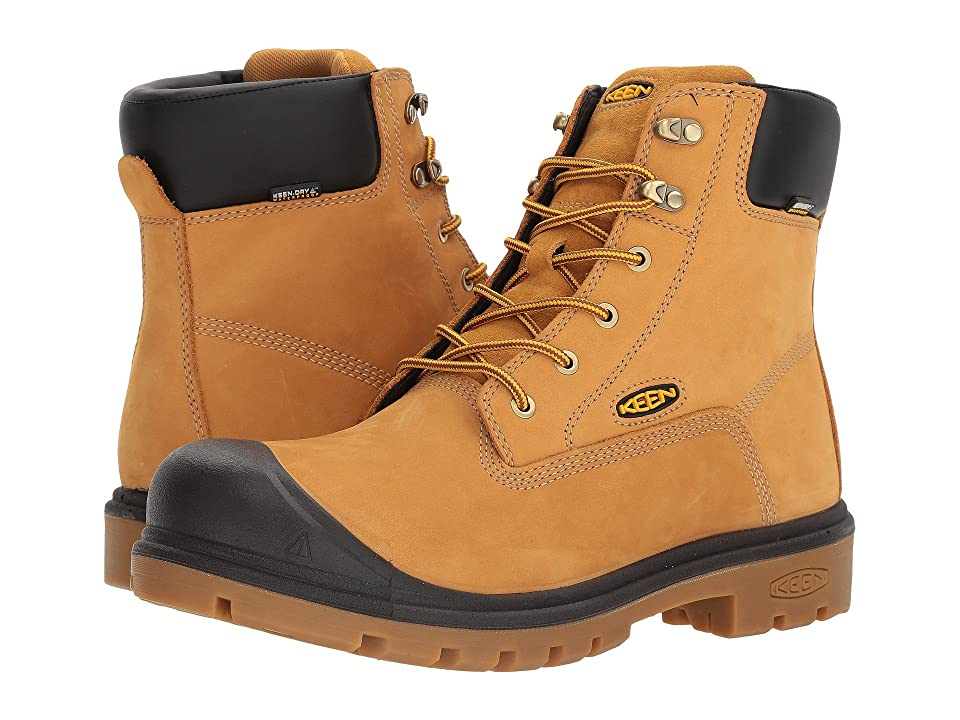 Keen Utility Baltimore 6 WP Steel Toe (Wheat) Men