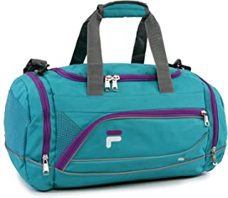 "Fila Sprinter 19"" Sport Duffel Bag, Teal/Purple"