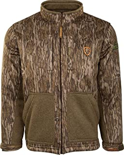 Drake Youth Silencer Full Zip Jacket with Agion Active XL - Realtree Edge