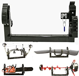 Digger Anchor All Season Multi-Purpose 3-Place Carrier Rack Holder ATV Snowmobile UTV Mount for Metal or Composite Rack