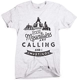 the mountains are calling disney shirt