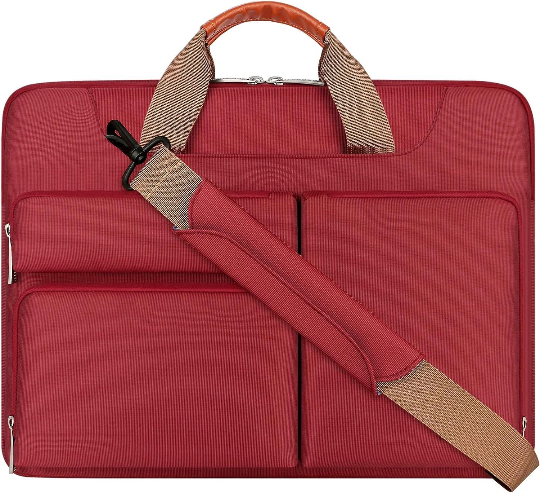 Lacdo 15.6 Inch Laptop Shoulder 360° Save money Computer Bag Protective Elegant