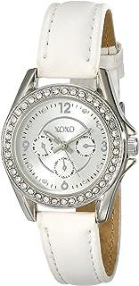 XOXO Women's XO3401 Analog Display Analog Quartz White Watch