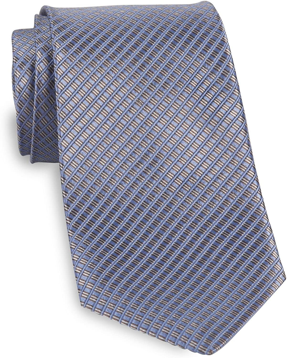 TODD SNYDER NEW YORK USA PLAID GRAY 3 INCH WIDTH 100% WOOL NECK TIE MENS NWT