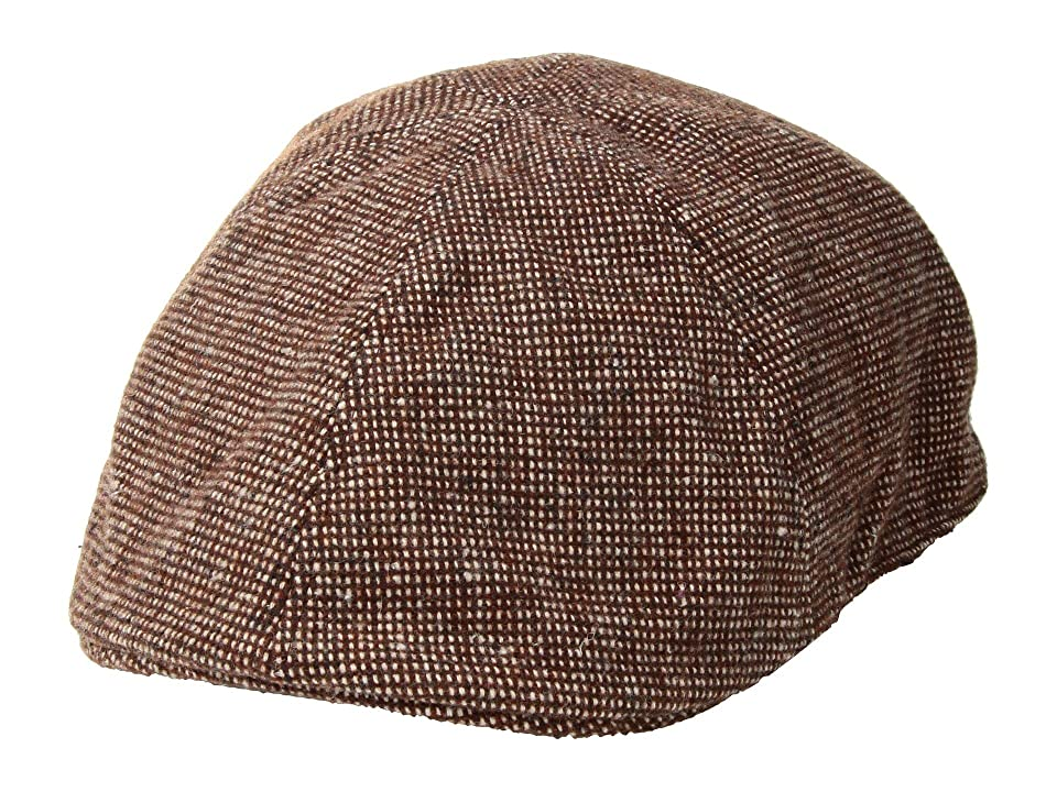 Tweed Ride Clothing, Fashion, Outfits Bailey of Hollywood Rapol Brown Tweed Caps $55.00 AT vintagedancer.com