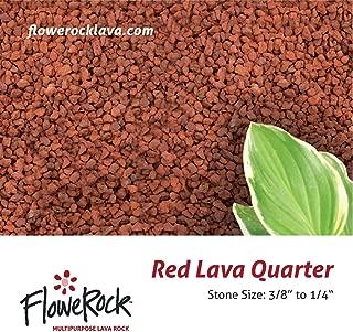 FloweRock 5LB Red Quarter Lava Rock