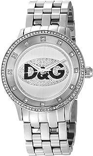 Dolce&Gabbana - DW0145 - Montre Mixte - Quartz Analogique - Cadran Blanc - Bracelet Acier Argent