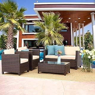 Best outdoor patio conversation sets sale Reviews