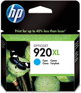 HP 920XL Cyan Original Ink Advantage Cartridge - CD972AE