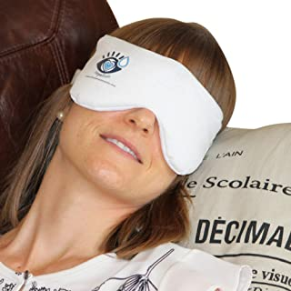 Heated Eye Mask - Soothing Warm Compress for Relief of Irritated Eyes, Dryness, Headaches, Sinus Issues, Allergies, and More