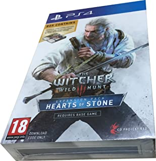 The Witcher 3 Hearts of Stone Limited Edition Expansion with Gwent Decks For PS4 [Uk Import] [video game]