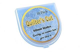 Quilter's Cut 60mm Rotary Blades, 10 Pack, Fits Olfa, Fiskars, Martelli, Truecut