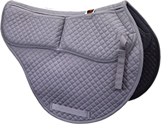 ECP Cotton Correction All Purpose Contoured Saddle Pad - Memory Foam Pockets