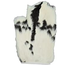 1 single Real Rabbit Fur Massage Mitt