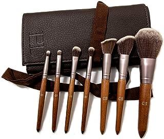 BD Makeup Brush Set 7 Pieces Professional Bamboo Handle