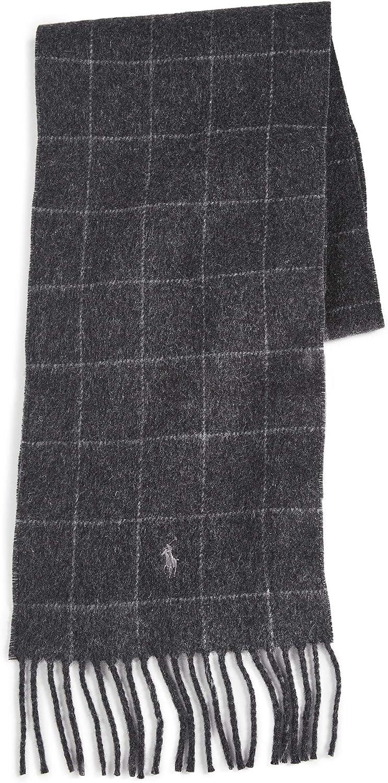 Polo Ralph Lauren Men's Reversible Windowpane Scarf