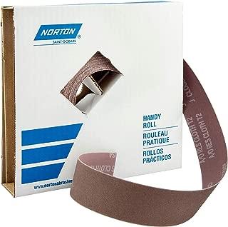 Grit P40 1 Width x 50 yds Length Norton K225 Metalite Abrasive Roll Cloth Backing Pack of 1 Aluminum Oxide