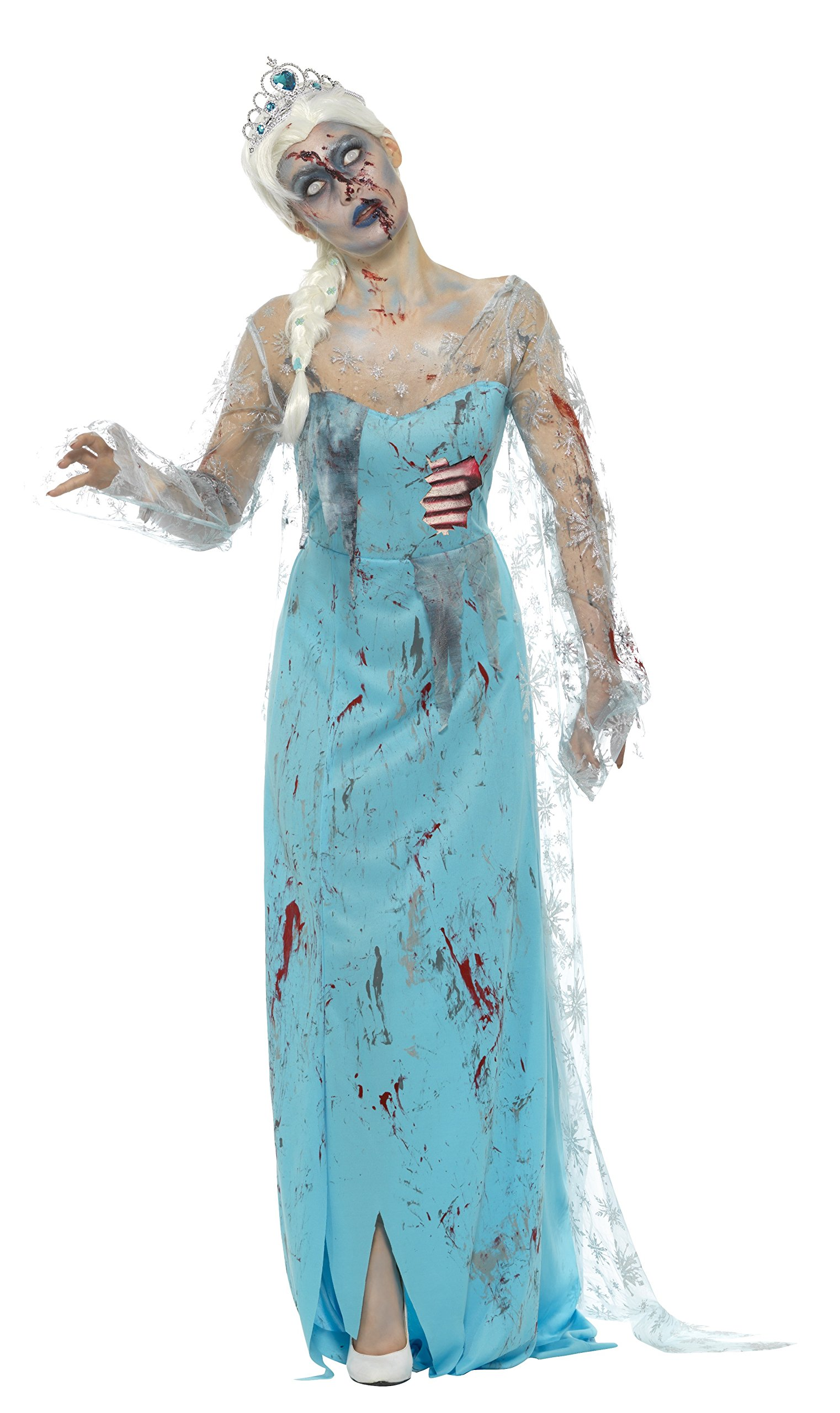 Smiffys-46864S Disfraz Zombi: Muerta congelada, con Vestido ...