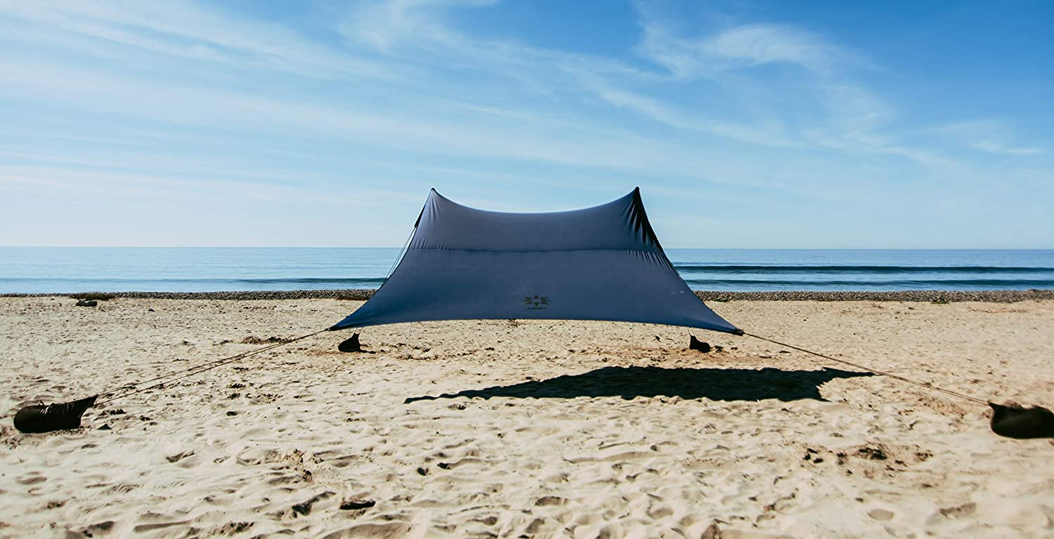 Neso Tents Grande Beach Tent 7ft Corn 9ft 9 OFFicial store x Tall Reinforced Ranking TOP12