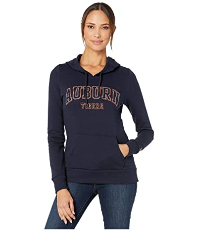 Champion College Auburn Tigers Eco University Fleece Hoodie (Navy 3) Women