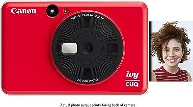 Canon IVY CLIQ Instant Camera Printer, Mini Photo Printer with 2