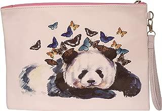 Marigold Handheld pouch designer graphic purses for kids ladies/woman other design (Panda)