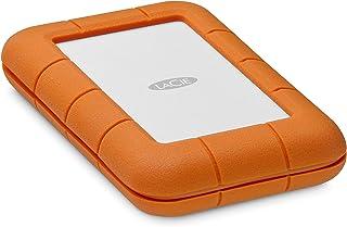 LaCie 莱斯 Rugged 迷你磁盘便携式硬盘 2TB Thunderbolt USB-C