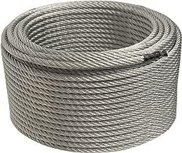 zipline cable diameter